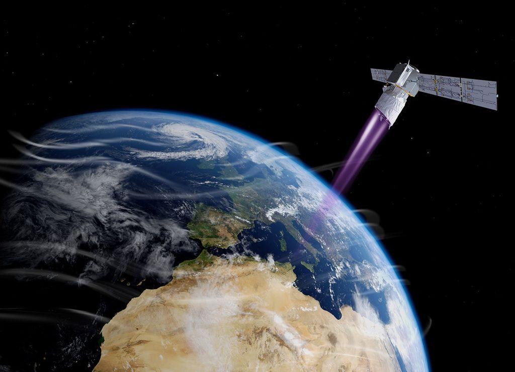 El satélite Aeolus