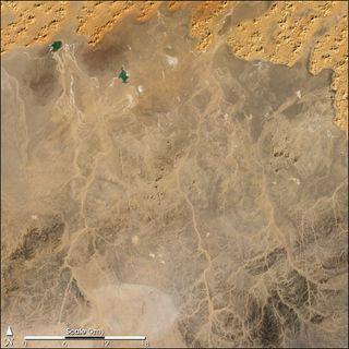 Los wadis del Sahara
