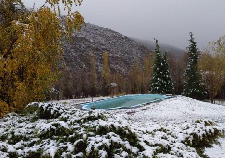 Nieve nevada Argentina Mendoza