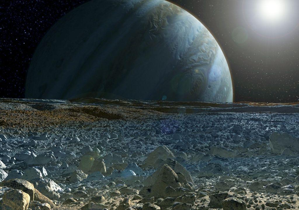 Europa Júpiter