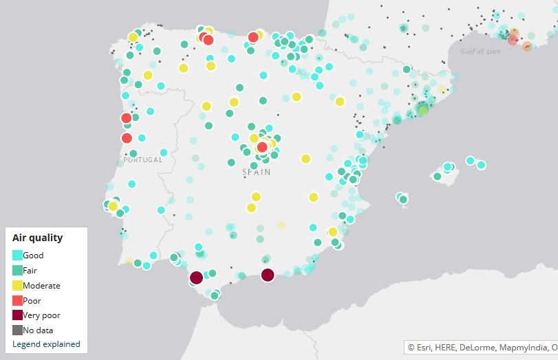 Madrid Empieza El Año Con Contaminación