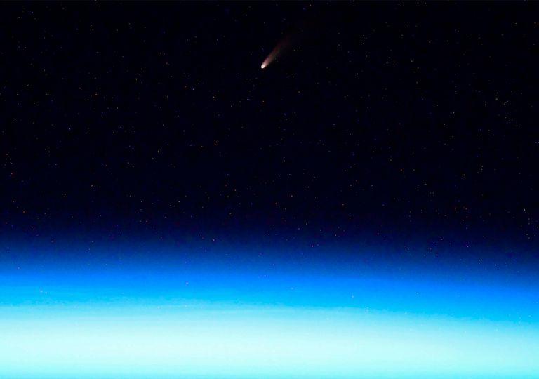 Cometa desde la ISS