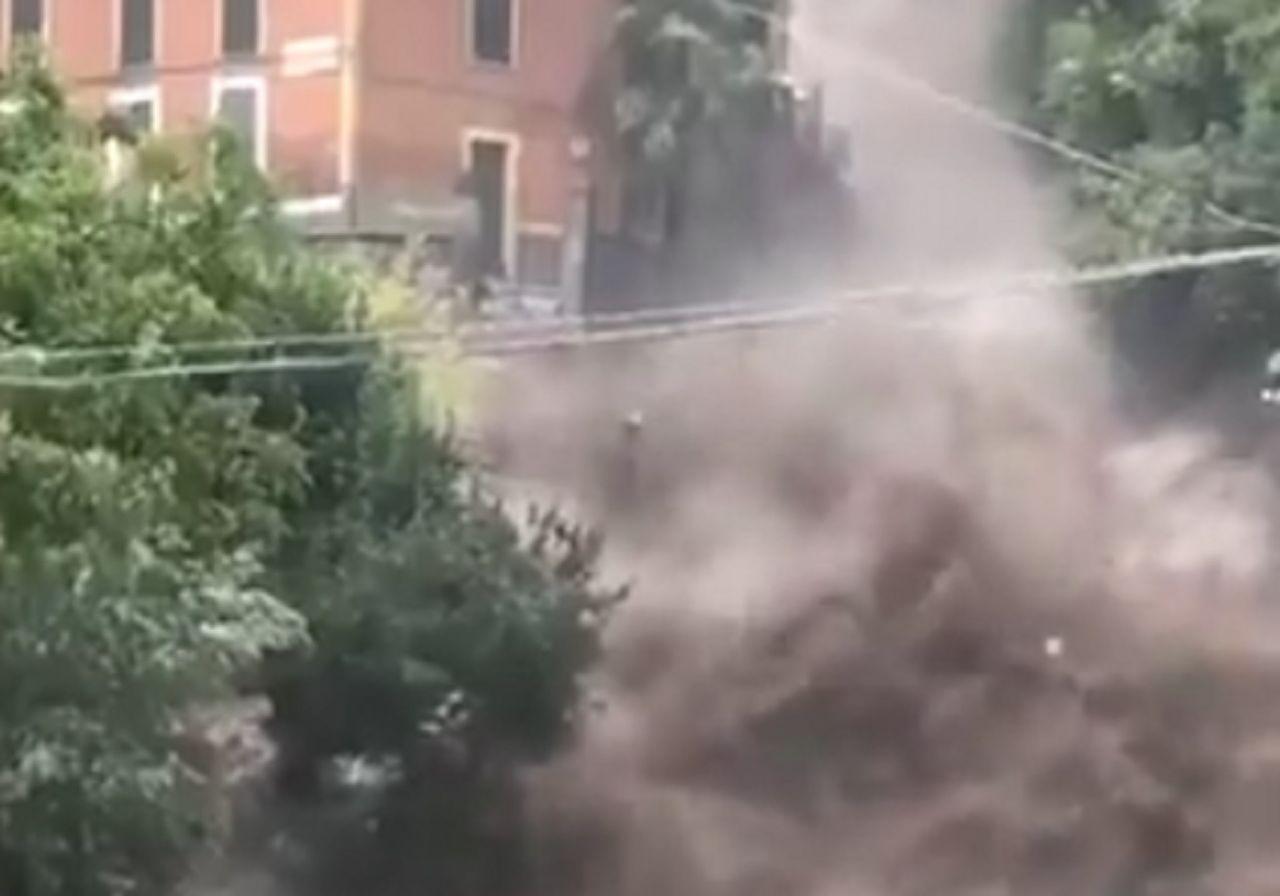 Unwetter am Comer See: Erdrutsche und Überschwemmungen!