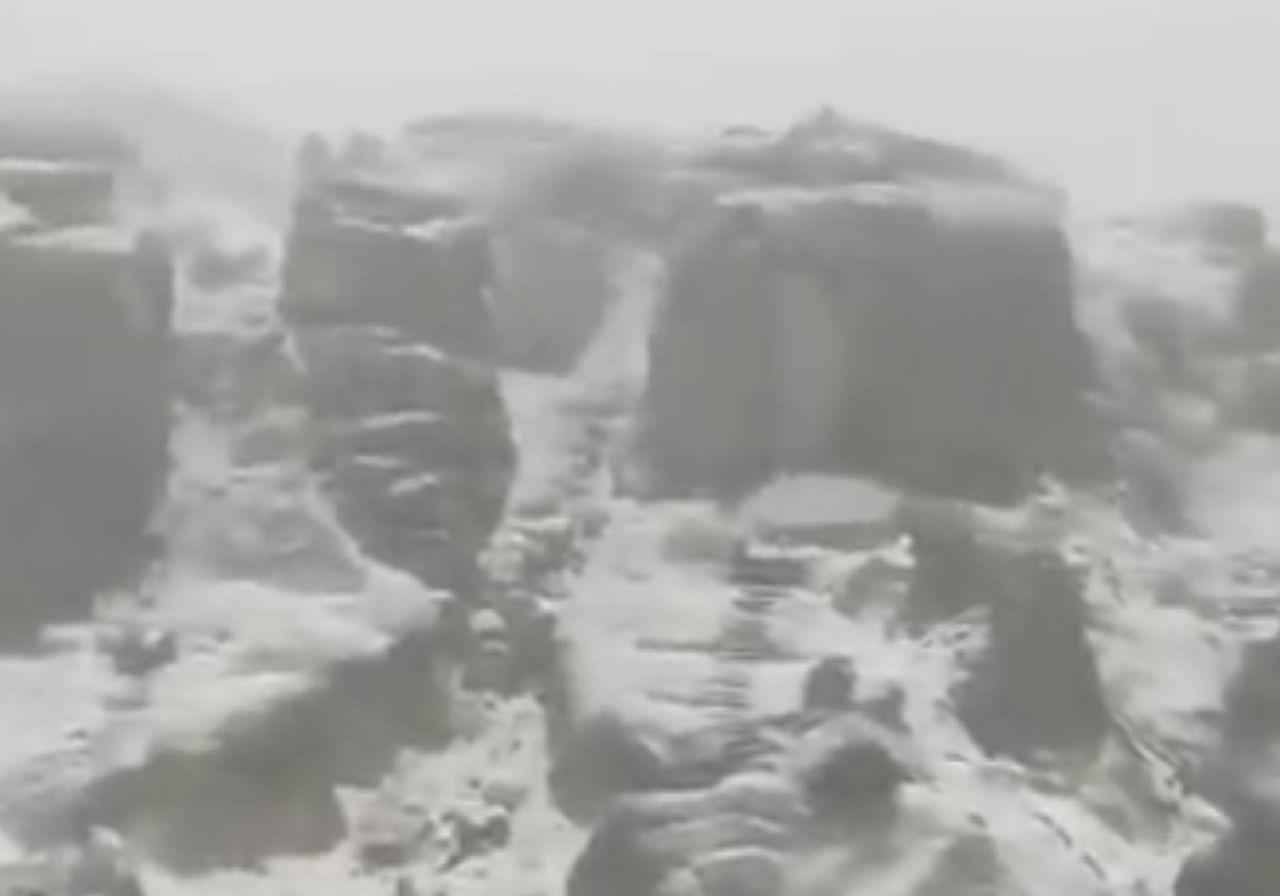 Maltempo in Europa, neve in Portogallo: ecco alcuni video