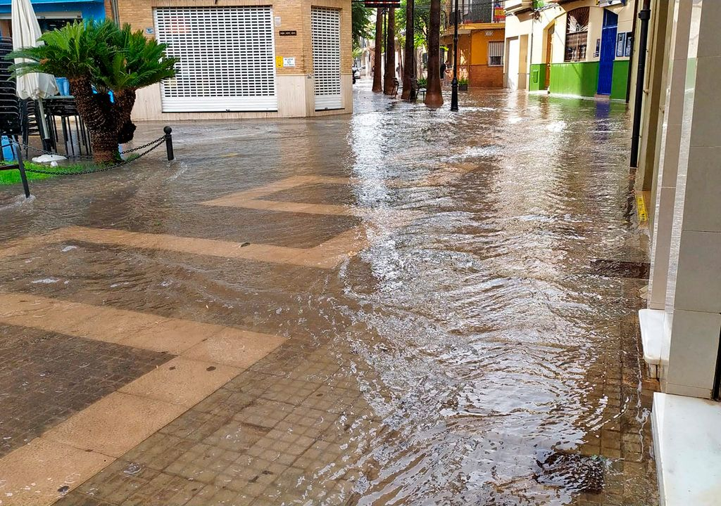 Inundación Aldaia