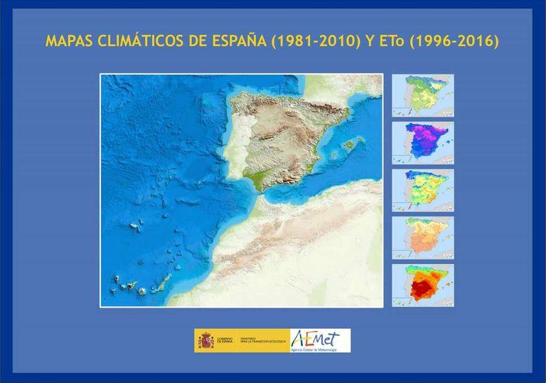Mapas Climáticos De España (1981-2010) Y Eto (1996-2016)