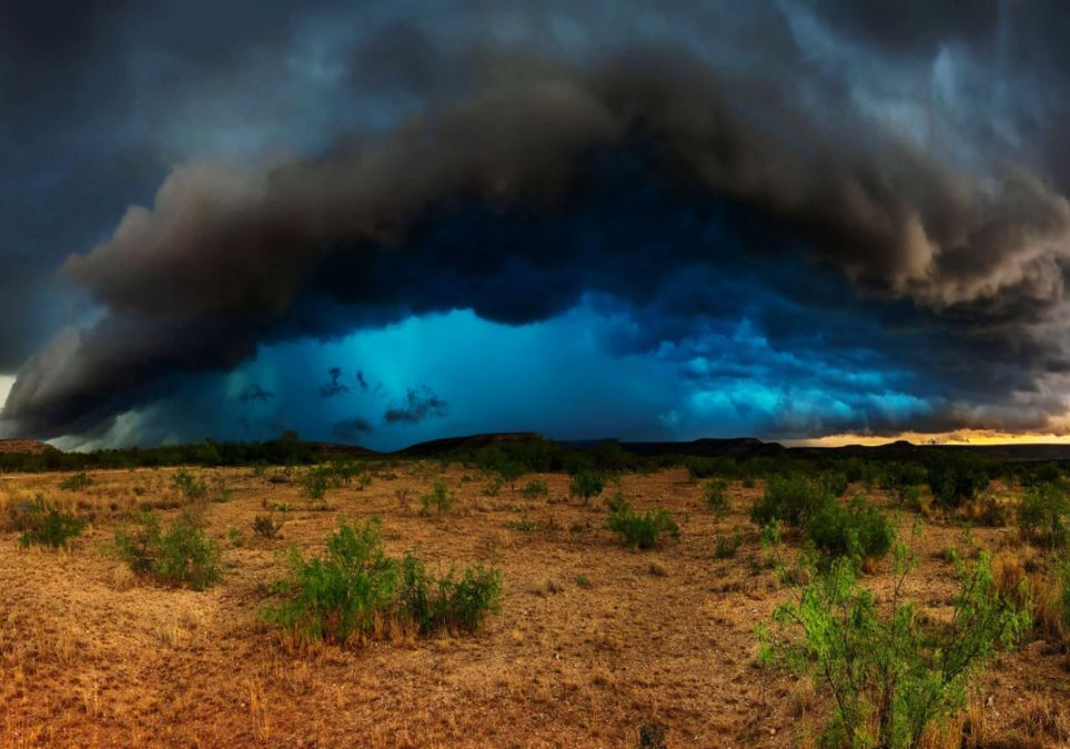 Se esperan fuertes tormentas — Hay alerta meteorológico