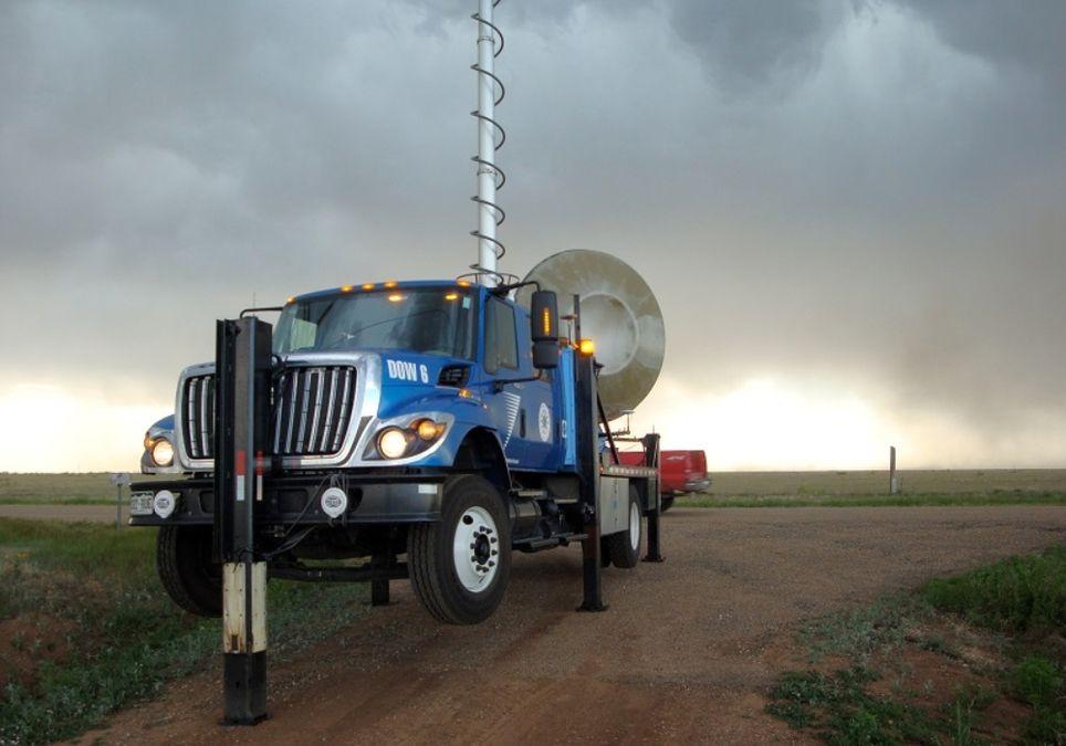 Proyecto Relámpago tormentas radar DOW