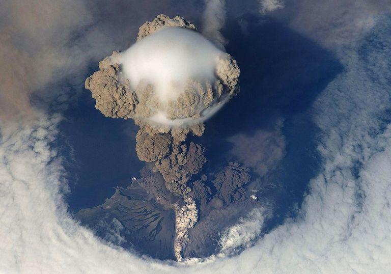 cambio climático volcanes