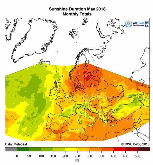 Mayo De 2018 En Mapas: Europa Al Revés