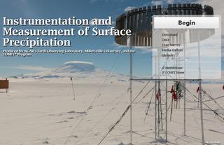 Mediciones de precipitación en la superficie terrestre e instrumentos