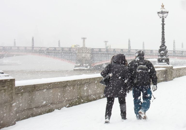 The Beast from the East hit London in 2018