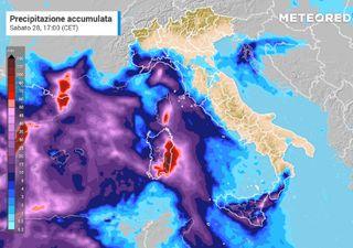 Meteo, allerta rossa in Sardegna per il maltempo: i dettagli