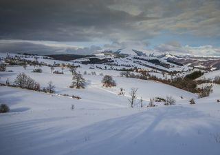 Meteo: breve assaggio d'inverno con prima neve sugli Appennini