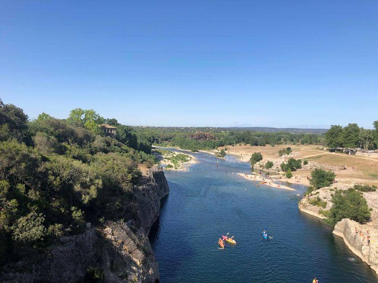 Vue du pont du Gard © clément meirone