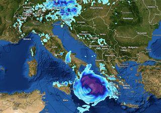 Meteo estremo tra caldo anomalo e ciclone mediterraneo