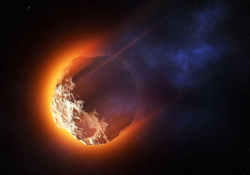 asteroide; meteorito