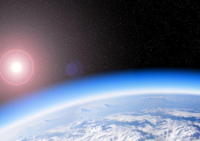 Camada de ozono; ozone layer; atmosfera.