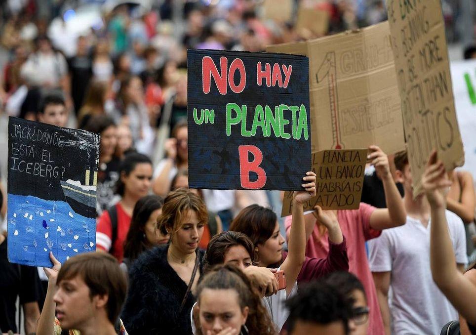 Esta declaratoria se hace en el contexto de diversas protestas sociales por acción al clima. Foto: ABC.es