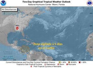 Mientras Zeta se degrada, el Caribe se activa de nuevo
