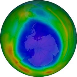 16 septiembre, por la Capa de Ozono: Todos Contra el Cambio Climático