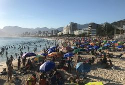 A primeira onda de calor no Brasil