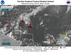 Actividad de huracanes en el Atlántico 16-29 de septiembre de 2021