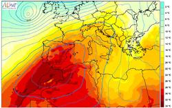 Agosto de 2021 en la Comunitat Valenciana :cálido y húmedo