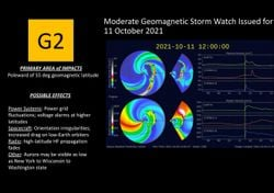 Achtung: Geomagnetische Sturmwarnung für heute!