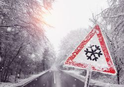 Alerta por temporal de nieve y lluvia en la Patagonia