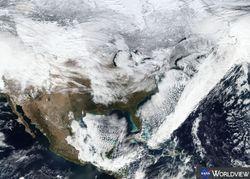 Algunas oscilaciones atmosféricas con influencia en el tiempo invernal