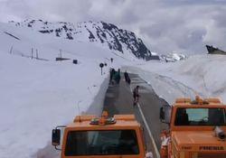 Massive Schneewände in den Alpen: Die aktuellen Bilder!