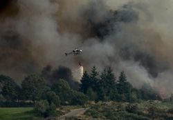 Más de 40 ºC, rayos, viento y humedad baja, riesgo extremo de incendio