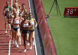Atletas olímpicos levados ao limite pelo calor no Japão