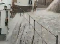 Neue schwere Unwetter über der Iberischen Halbinsel!