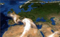 Avisos en algunos países de Europa por entrada de polvo del desierto