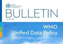 Boletín de la OMM dedicado al intercambio internacional de datos