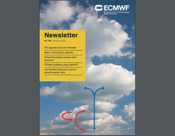 Boletín / Newsletter Nº 164 - Verano 2020 del ECMWF