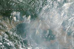 Cambio climático e incendios forestales amenazan la Capa de Ozono