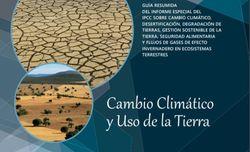 Cambio climático y el uso de la tierra