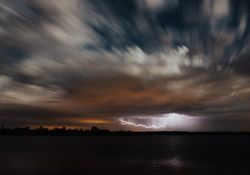 Cambios en la circulación favorecen el desarrollo de tormentas