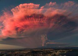 Cataclismos climáticos por causa volcánica