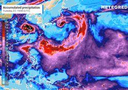 Il tifone In-Fa minaccia la costa orientale della Cina