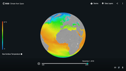 Cómo la ESA impulsa la educación climática
