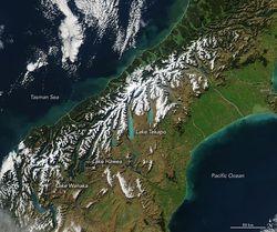 Cómo los glaciares generan lagos turquesa