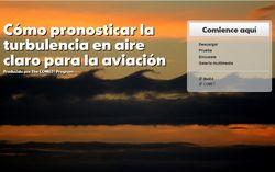 Cómo pronosticar la turbulencia en aire claro para la aviación