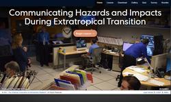 Comunicando impactos durante la transición extratropical