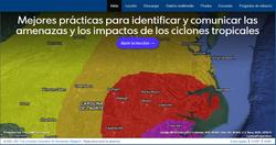 Comunicar las amenazas y los impactos de ciclones tropicales