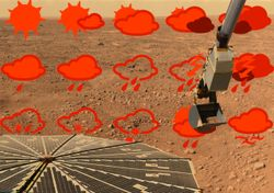Confira (em breve) a previsão do tempo para Marte!