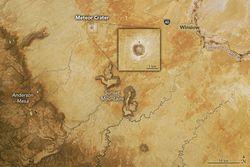 Cráter de un meteorito en Arizona